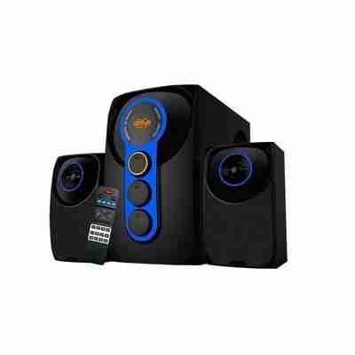 Parlantes Teros TE-5021 70 RMS Bluetooth / Lector USB / SD / Radio FM con Control Remoto