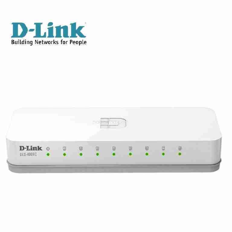Switch D-Link DES-1008C
