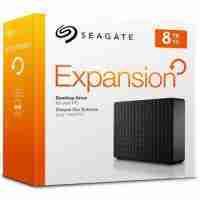 Disco Duro Externo 8tb Seagate Expansion Usb 3.0, Negro