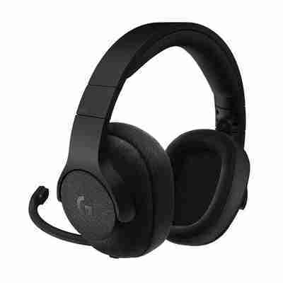 Auriculares Gamer Logitech G433, Sonido 7.1, micrófono desmontable, Negro