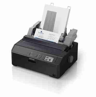 Impresora matricial Epson FX-890II, matriz de 9 pines, Paralelo / USB 2.0, 100V - 240VAC.