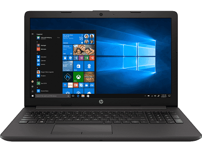 "Notebook HP 250 G7, 15.6"" HD, Intel Core i3-7020U 2.30GHz, 4GB DDR4, 1TB SATA."